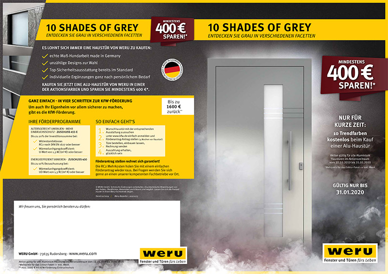 WERU Shades of Grey